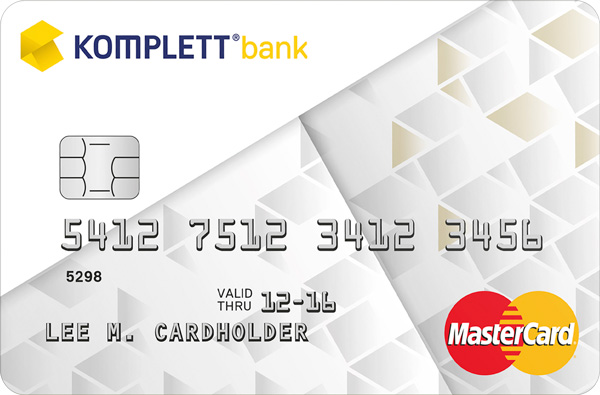 komplett mastercard - kredittkort